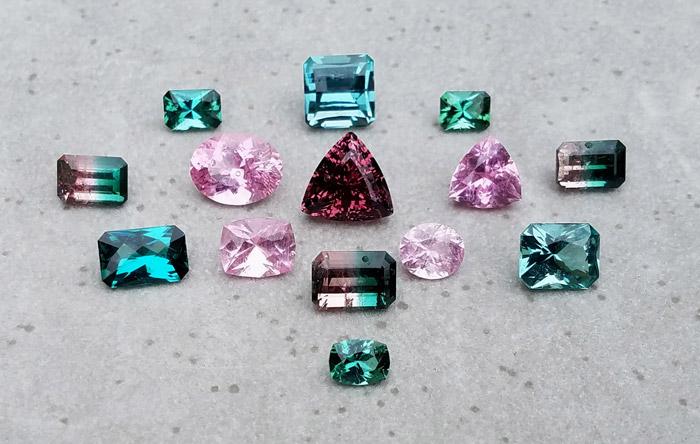Mount Mica, Maine Tourmaline, Gemstones, Jewelry - Creaser Jewelers